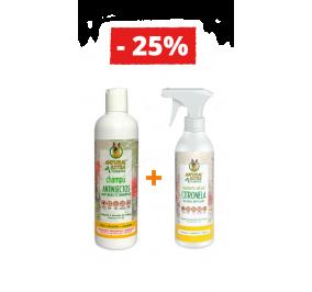 Champô Anti-insetos + Repelente Natural de Citronela