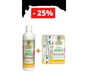 Champô Anti-insetos + Pipeta Anti-insetos