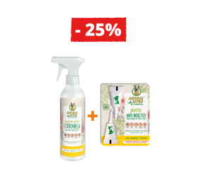 Repelente Natural de Citronela + Pipeta Anti-insetos