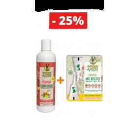 Champô e Amaciador + Pipetas Anti-insetos